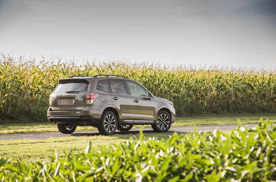2018 Subaru Forester rear