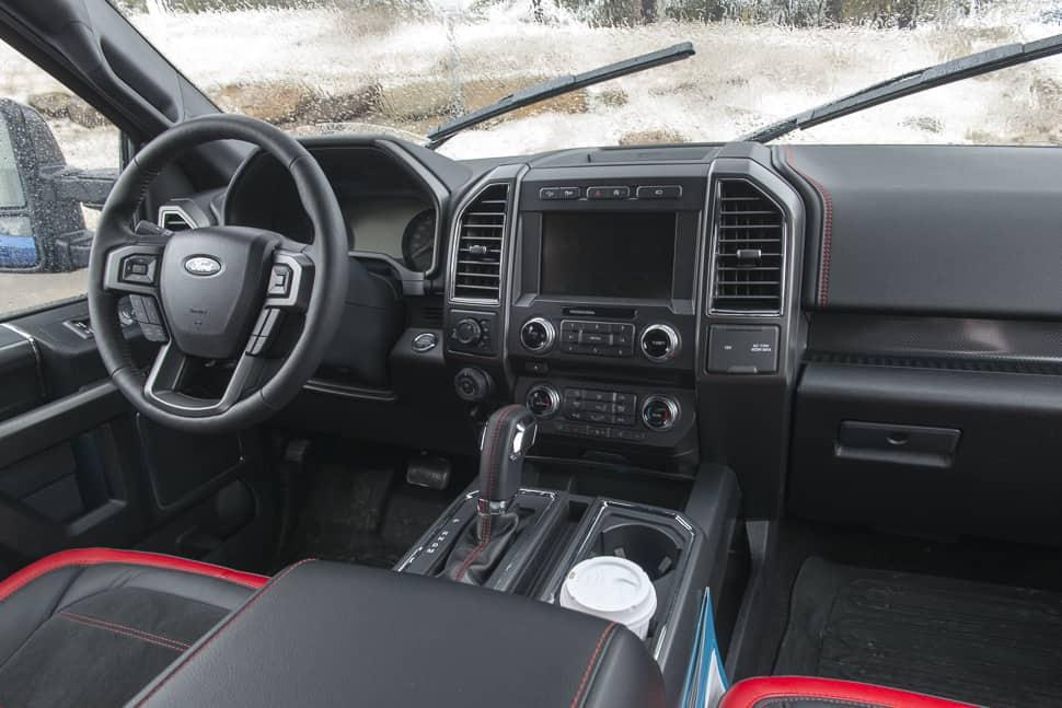 2017 ford f-150 supercrew interior
