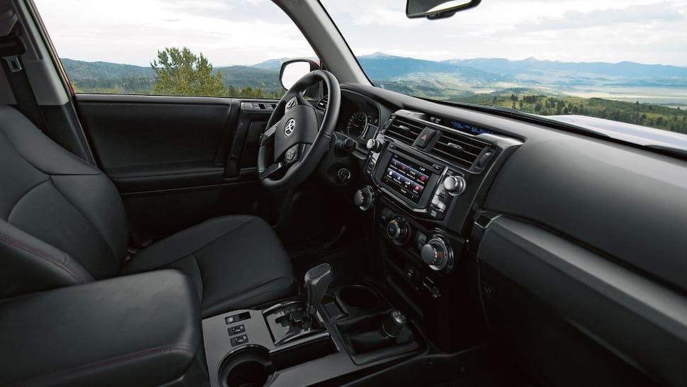 2017 toyota 4runner trd pro review interior