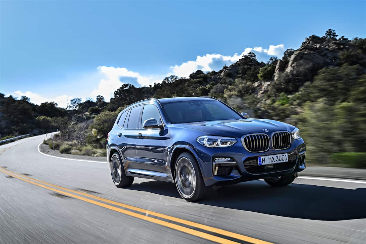 all new 2018 bmw x3 first ever m performance version arrive in fall. Black Bedroom Furniture Sets. Home Design Ideas