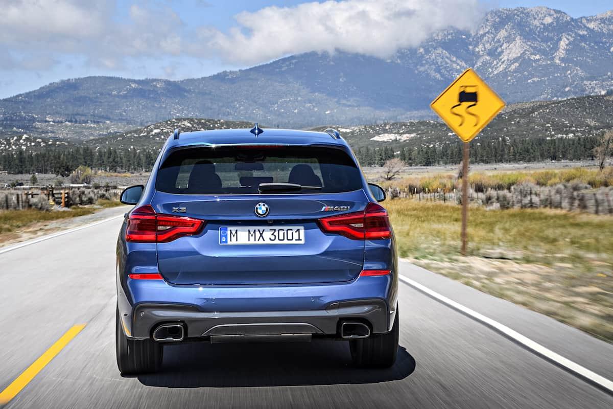 2018 BMW X3 rear head on