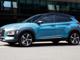 2018 Hyundai Kona sideview