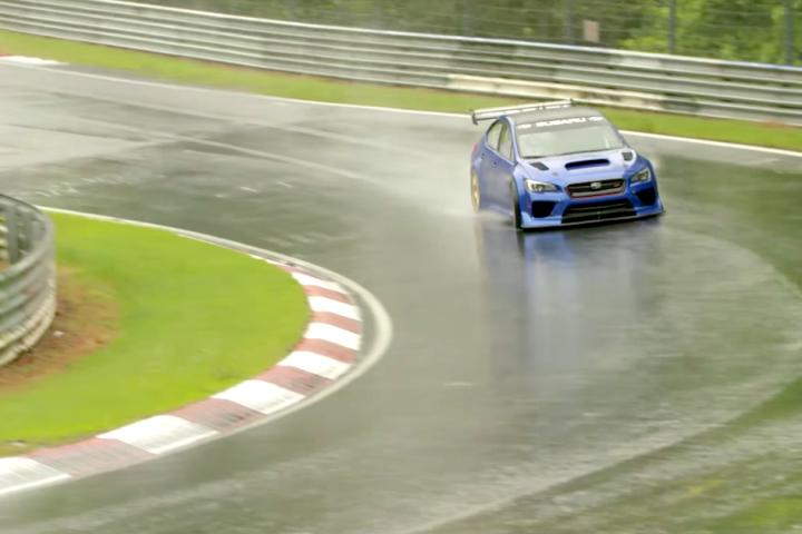 Big Goals: Subaru WRX STI Type RA NBR Special at Nürburgring [Video]