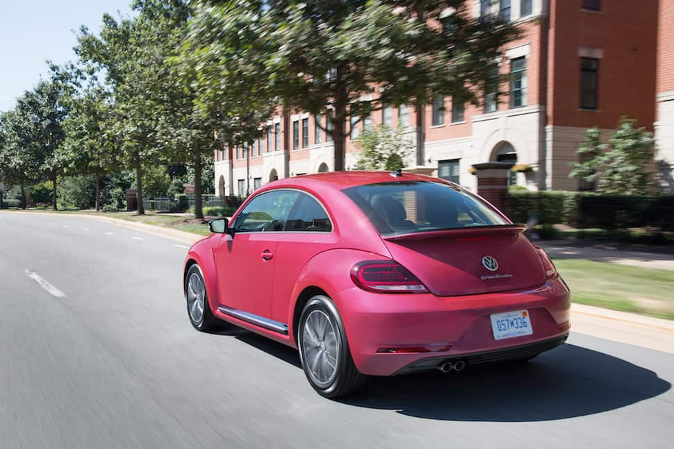 2017 Vw Beetle Pink Edition Review