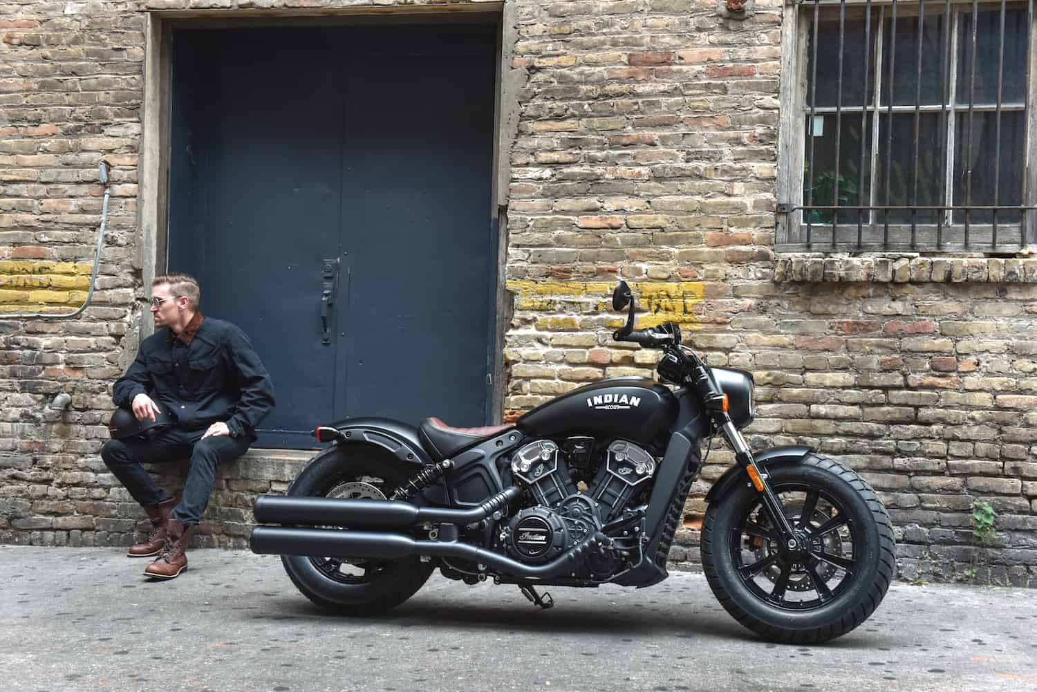 2018 Indian Scout Bobber sideview