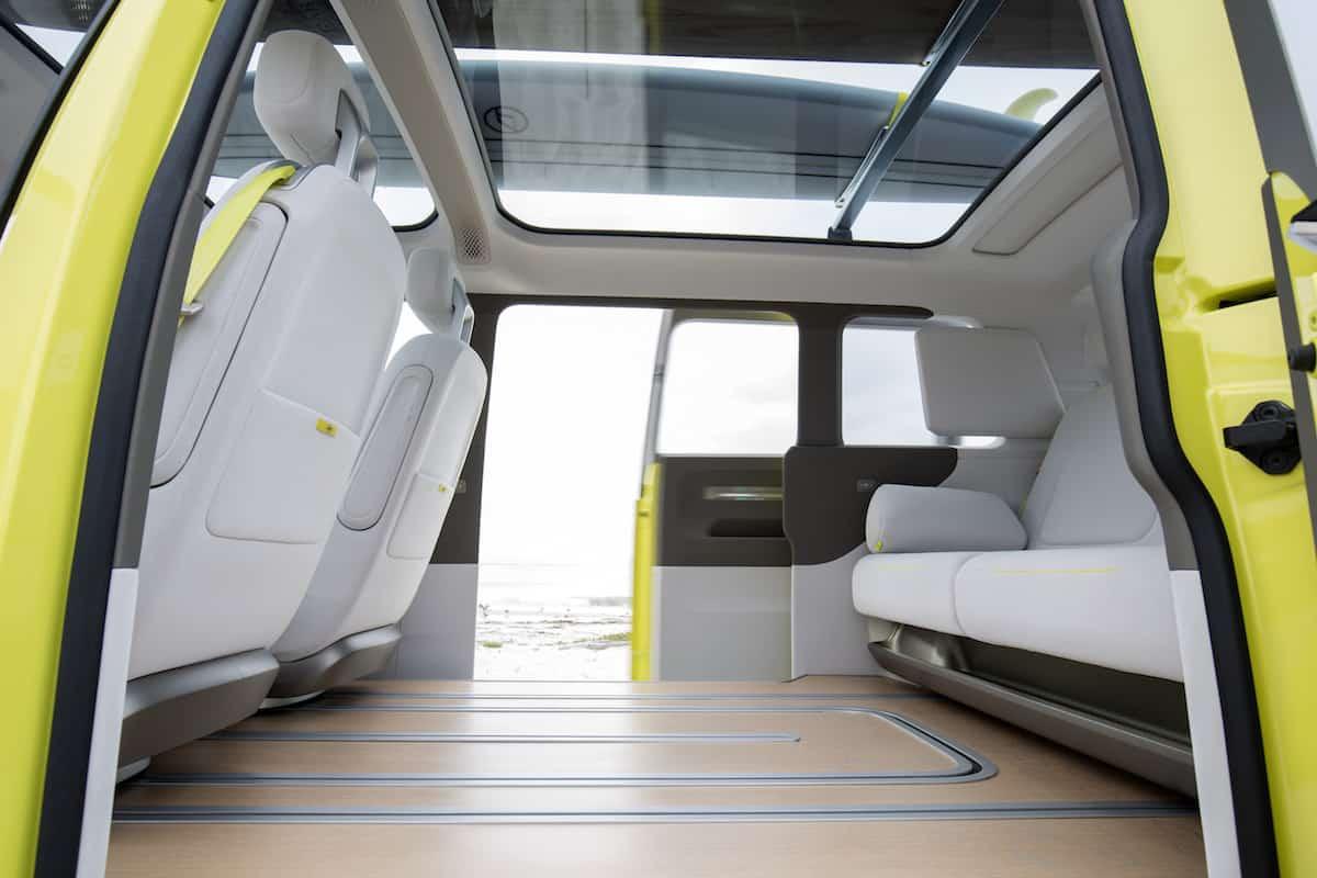 volkswagen I.D. BUZZ electric concept floor