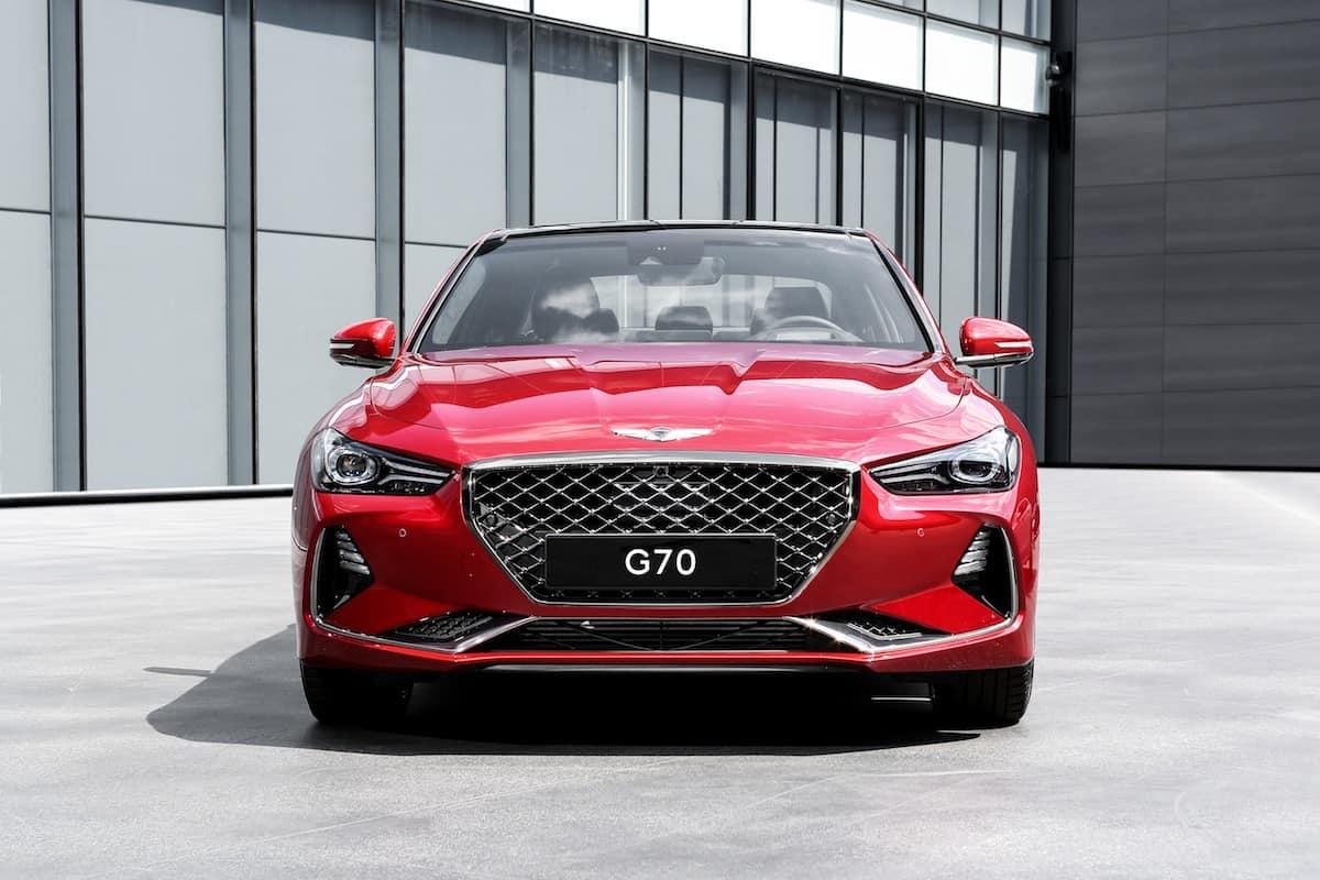 2018 genesis g70 sedan 2