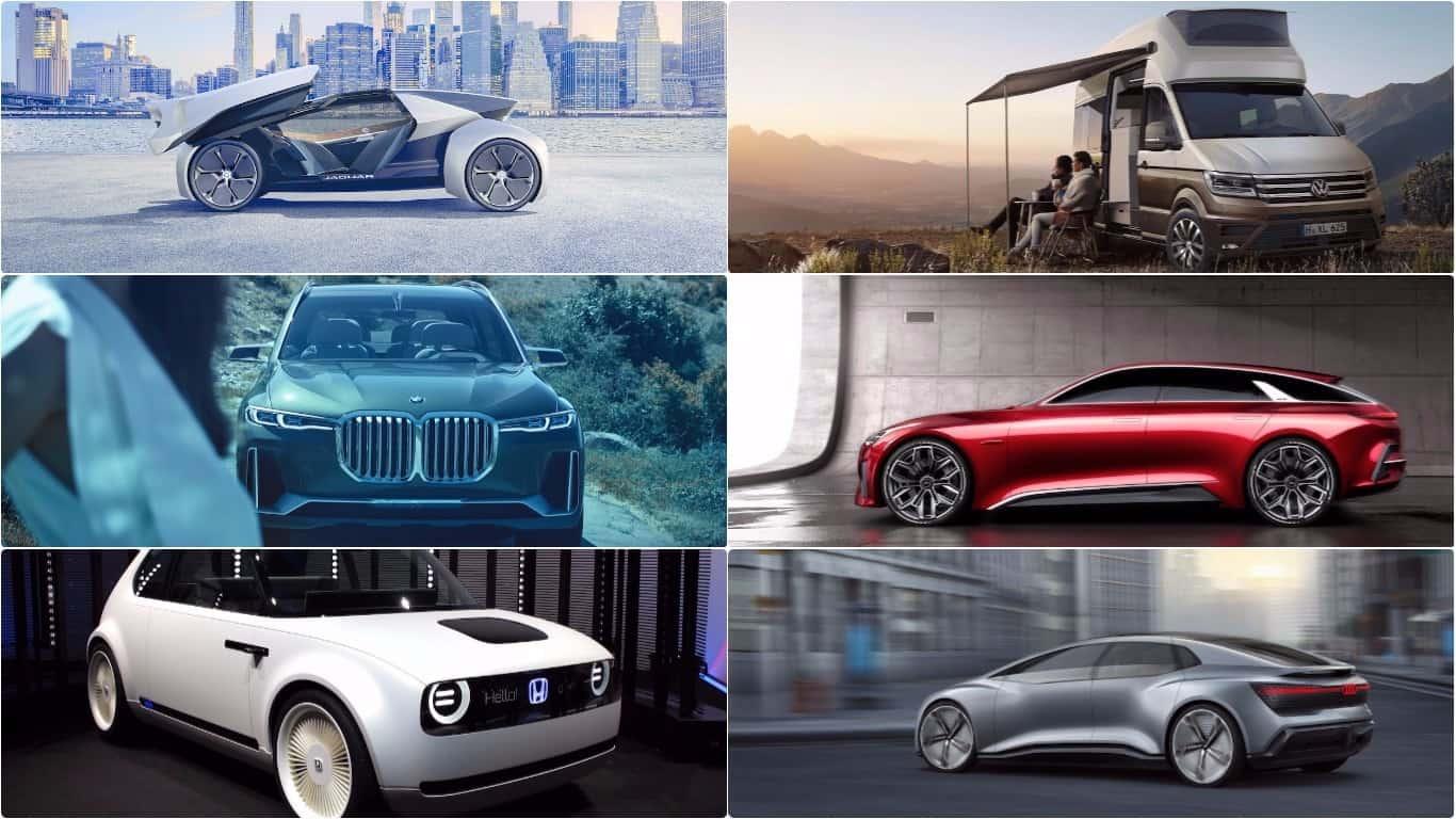 6 best concepts future cars frankfurt motor show 2017
