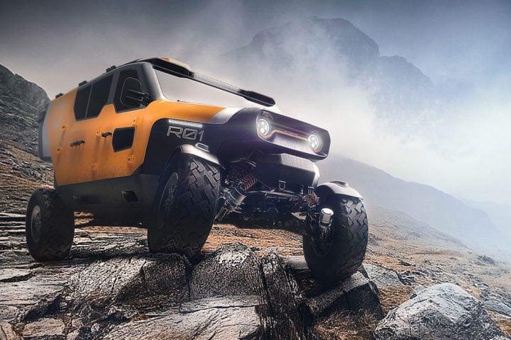 Polish Designers Build Crazy Mountain Rescue Vehicle: The Surgo