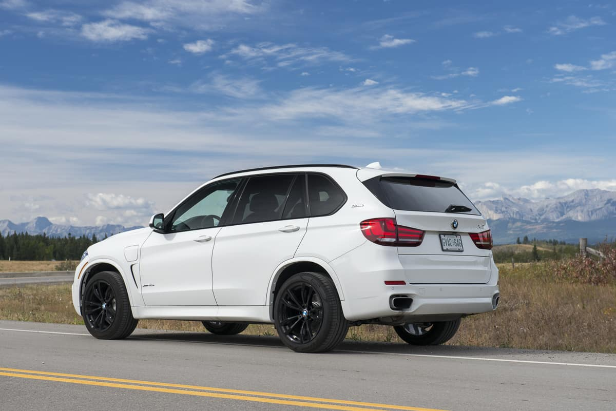 2017 bmw x5 xDrive40e plugin hybrid review rear