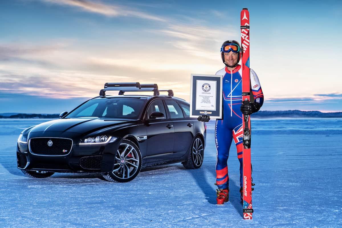 2018 Jaguar XF Sportbrake world record Graham Bell
