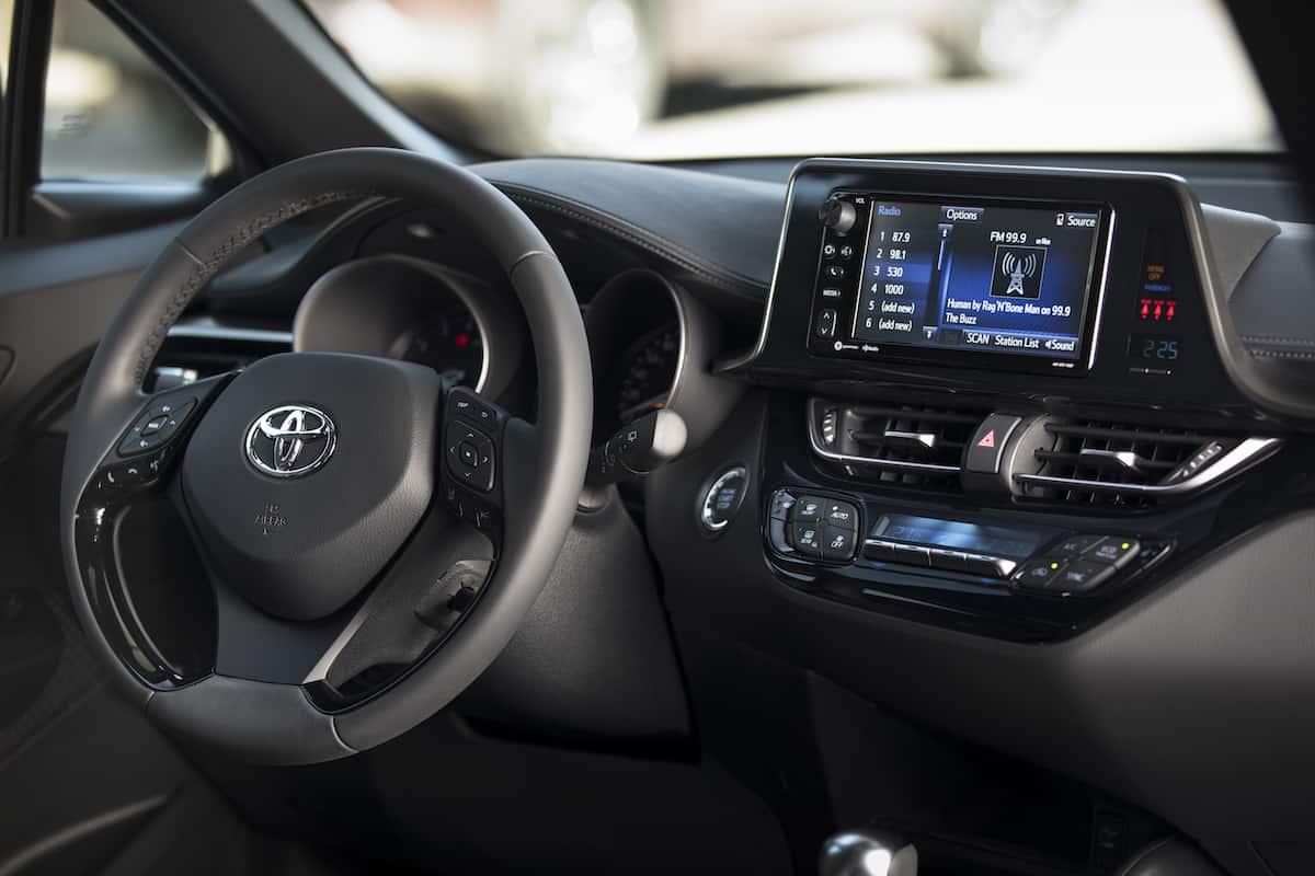 2018 Toyota C-HR Review interior 1