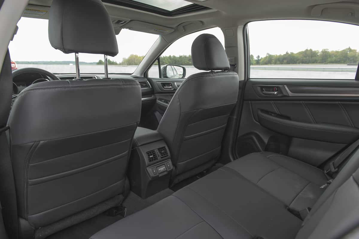 2018 Subaru Legacy Review rear seats