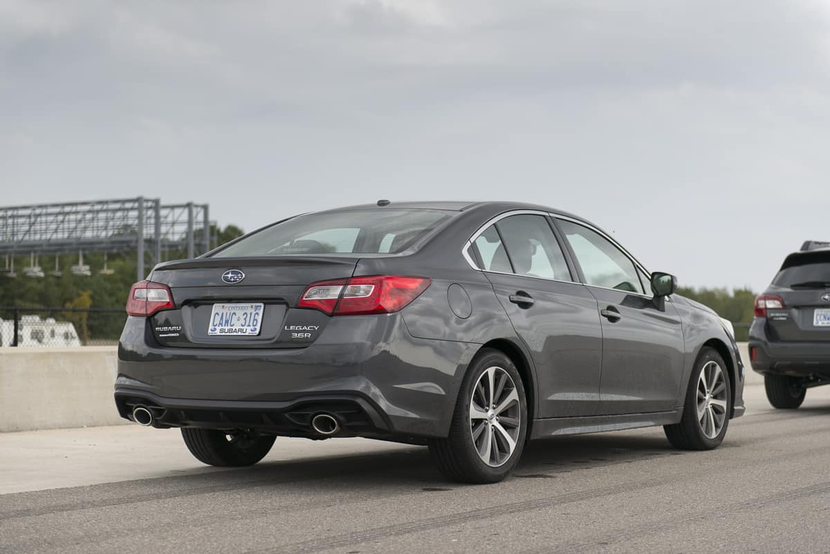2018 Subaru Legacy Review rear