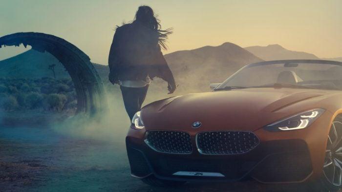 2019 BMW Z4 concept grill