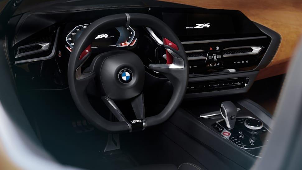 2019 BMW Z4 concept steering wheel