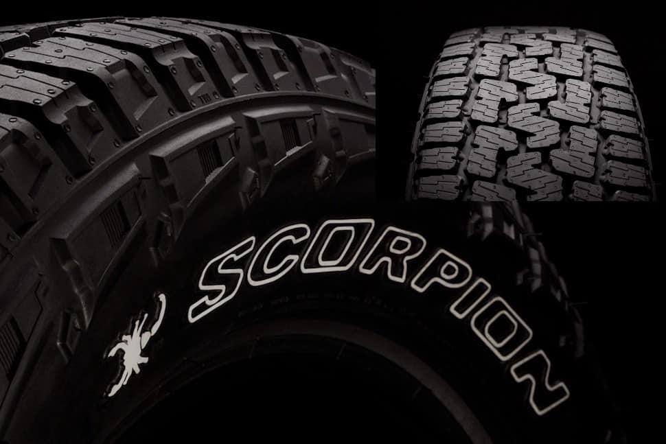 new pirelli scorpion all terrain plus tire unveiled. Black Bedroom Furniture Sets. Home Design Ideas