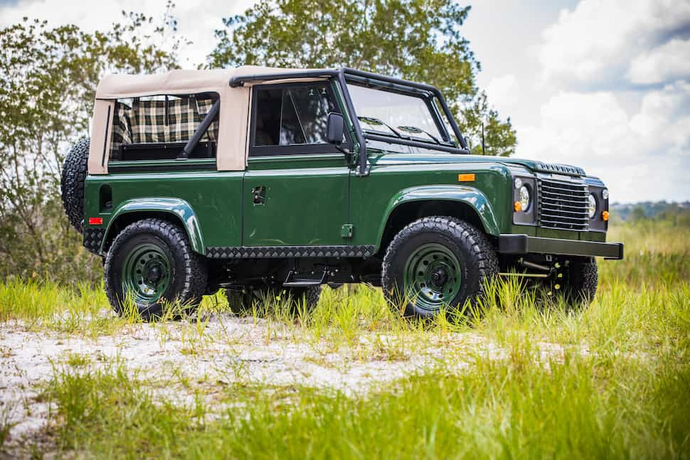 Project Barbour Heritage Edition Defender 90