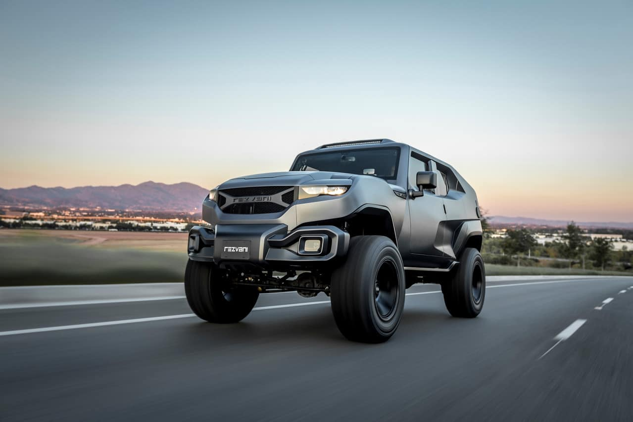 Rezvani Tank Tactical Urban Vehicle