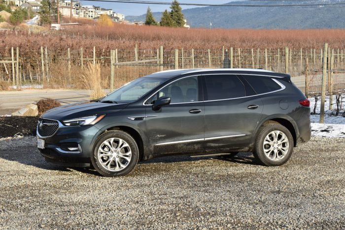 2018 Buick Enclave First Drive Review side view front angle