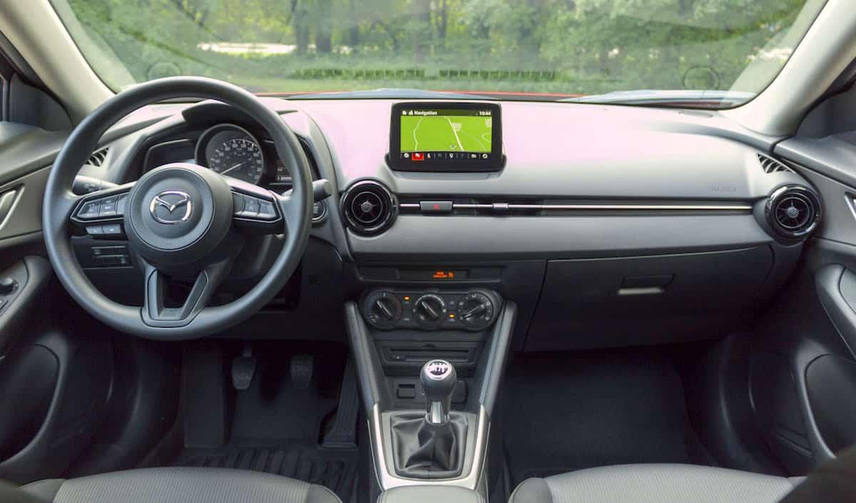 2018 mazda cx-3 review GX interior
