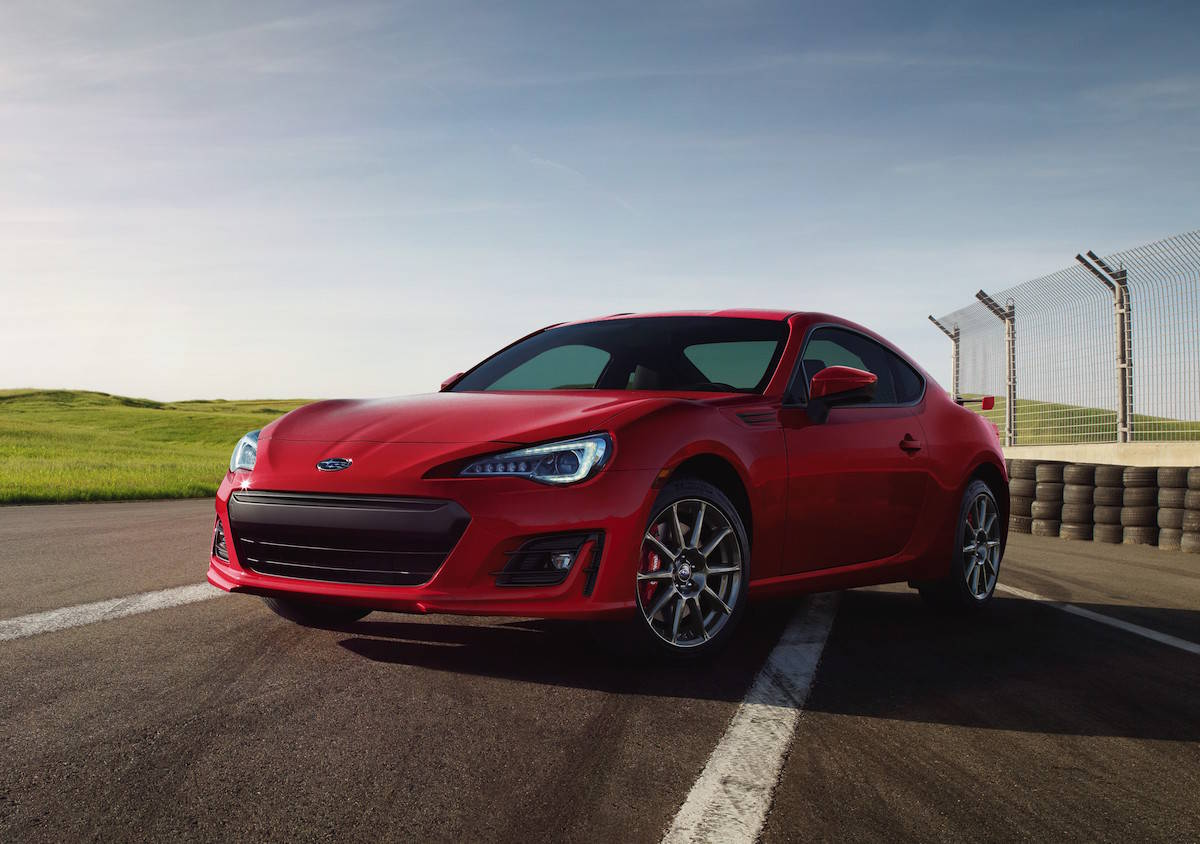2018 subaru brz release date front red