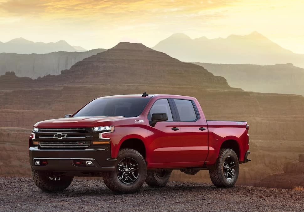 The Next Generation 2019 Chevy Silverado Makes A Rare Appearance