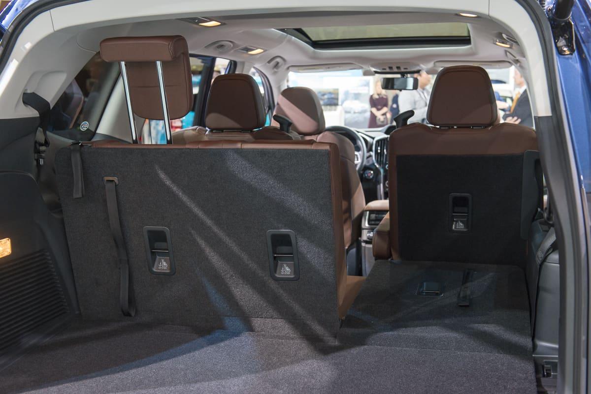 2019 subaru ascent interior rear cargo