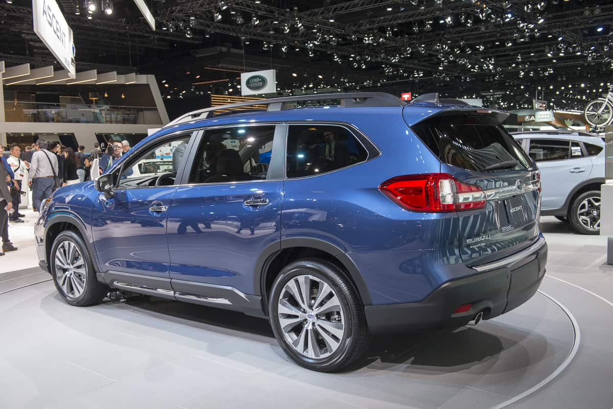 The New Subaru Suv Is Here 2019 Ascent Release Date Set For Summer