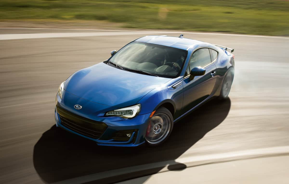 subaru brz canadian pricing released  sport tech rs trim