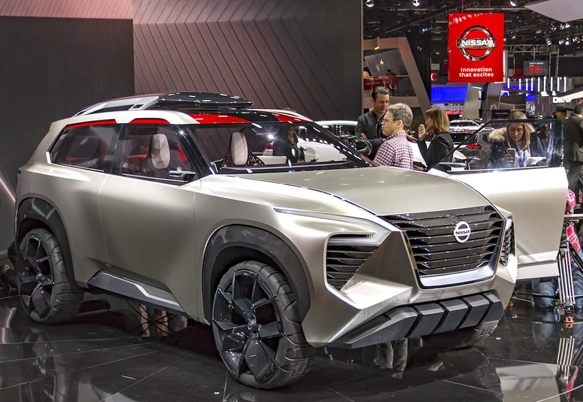 Nissan Xmotion Concept detroil unveil