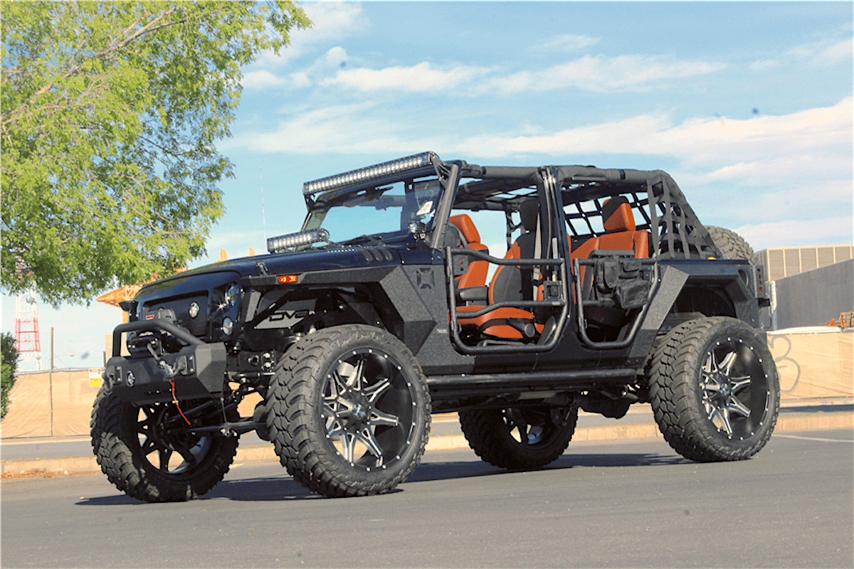 2018 jeep wrangler terminator custom by nevada based kao auto styling. Black Bedroom Furniture Sets. Home Design Ideas