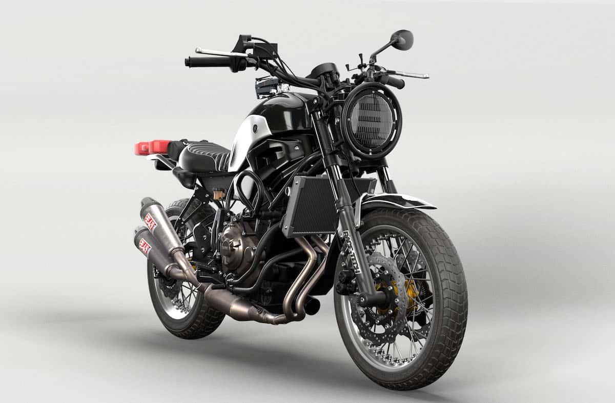Custom Yamaha Xsr700 Rural Racer Concept