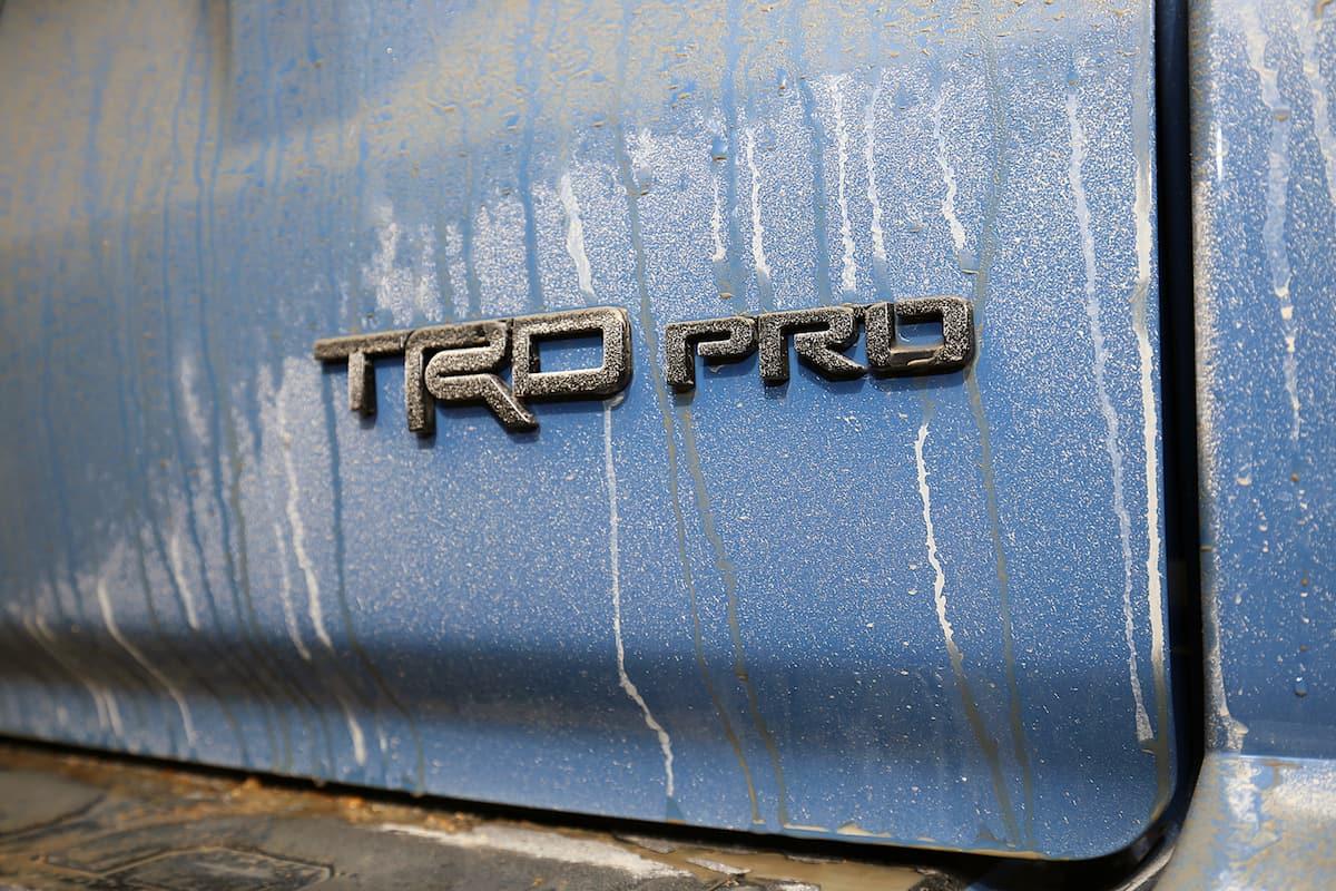 2018 Toyota 4Runner TRD Pro logo