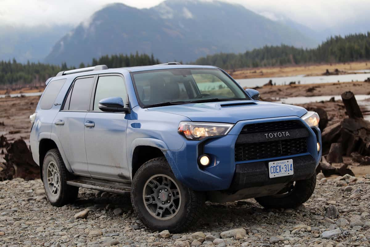 2018 toyota 4runner trd pro review keeping it real rugged. Black Bedroom Furniture Sets. Home Design Ideas