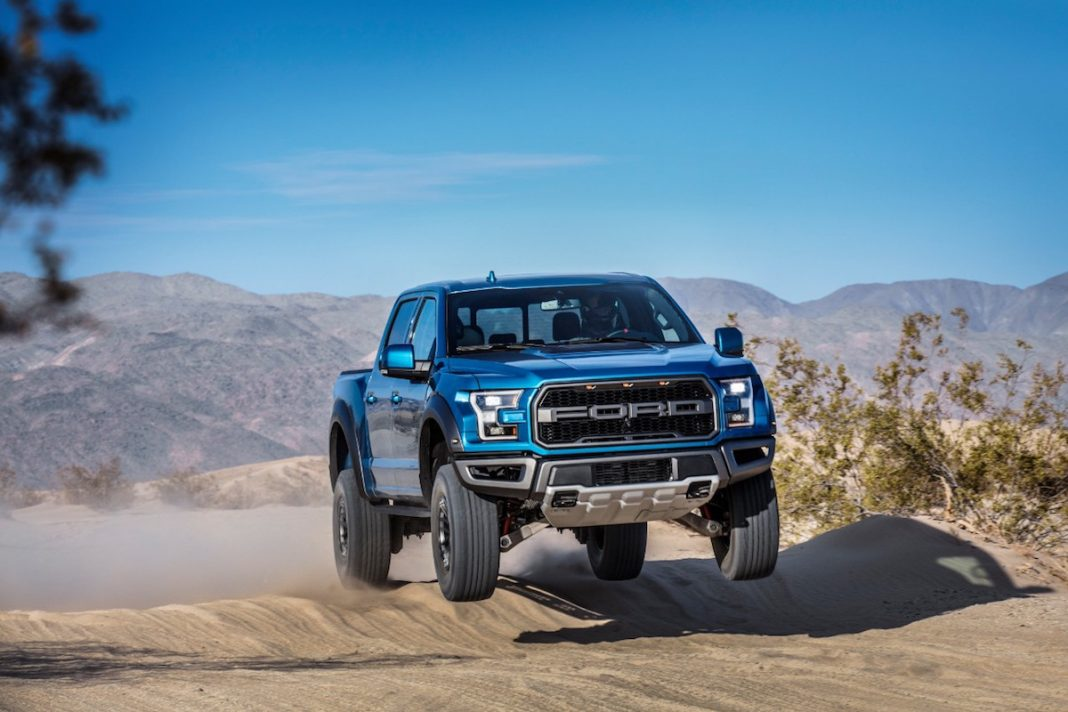 raptor release date upgraded pickup arrives late