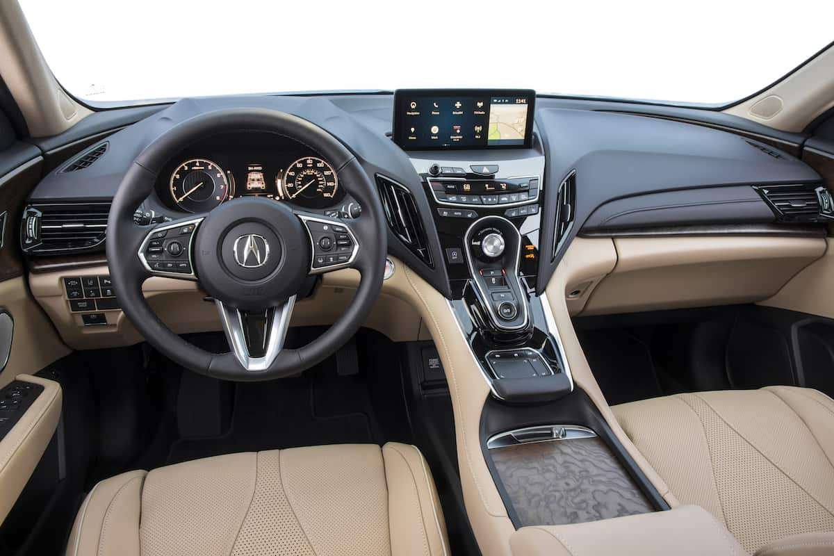 2019 acura rdx interior cabin sunroof