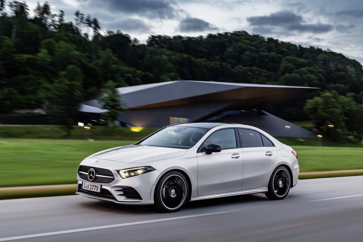 2017 Honda Cr V Towing Capacity >> 2019 Mercedes-Benz A-Class Sedan Joins its 5-Door Sibling ...