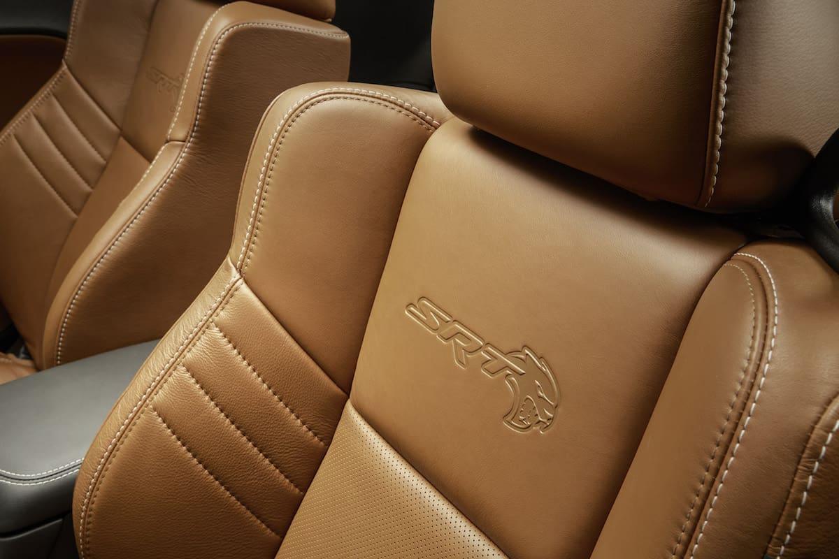 2018 Dodge Charger SRT Hellcat interior