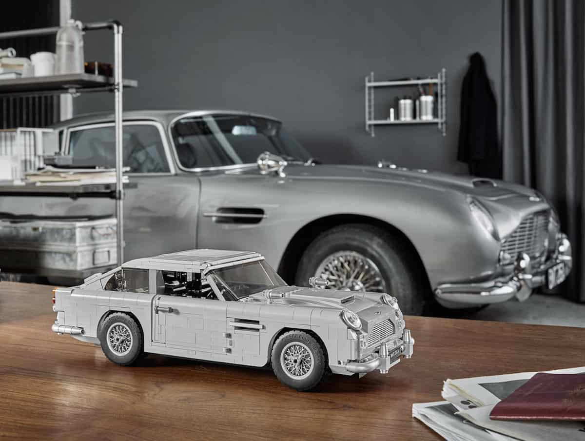 lego's new 1290-piece james bond aston martin db5
