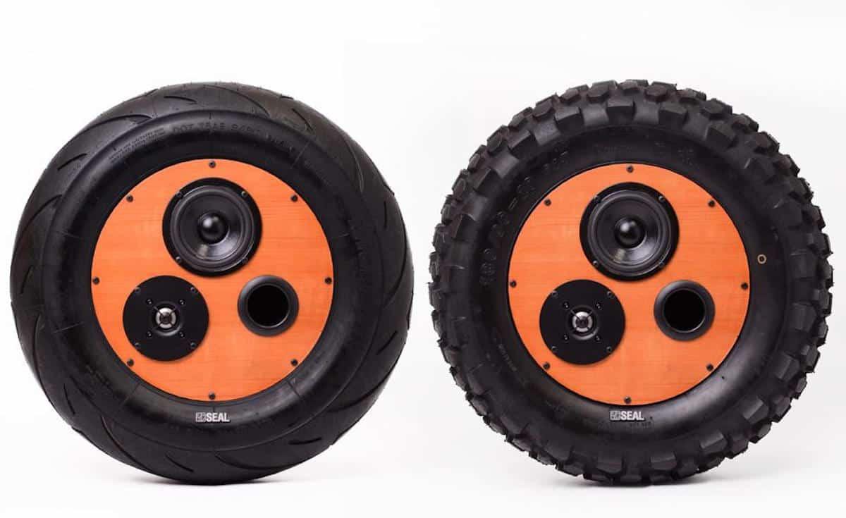 seal tire speaker 2 styles