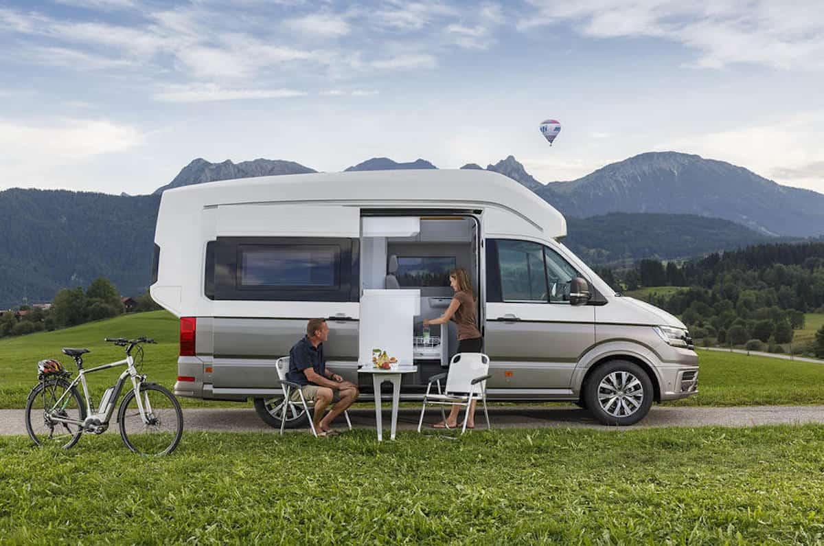 Volkswagen Grand California camping
