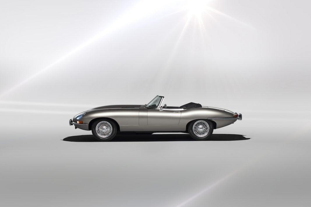 all electric jaguar e type by jaguar classic