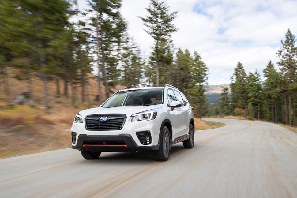 2019 subaru forester driving impressions on road