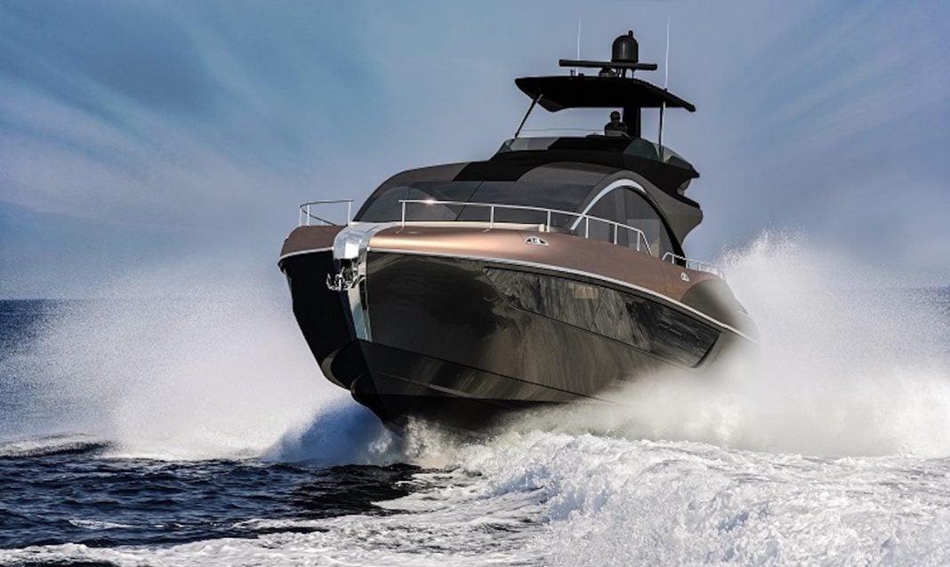 Lexus LY 650 luxury yacht front