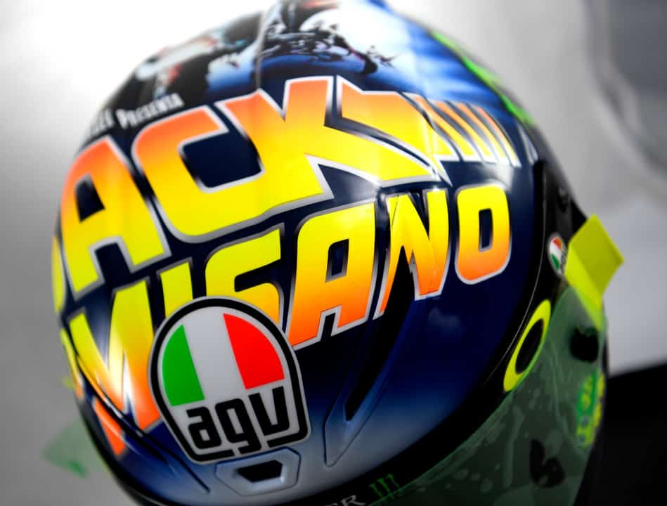 agv back to the future helmet 6