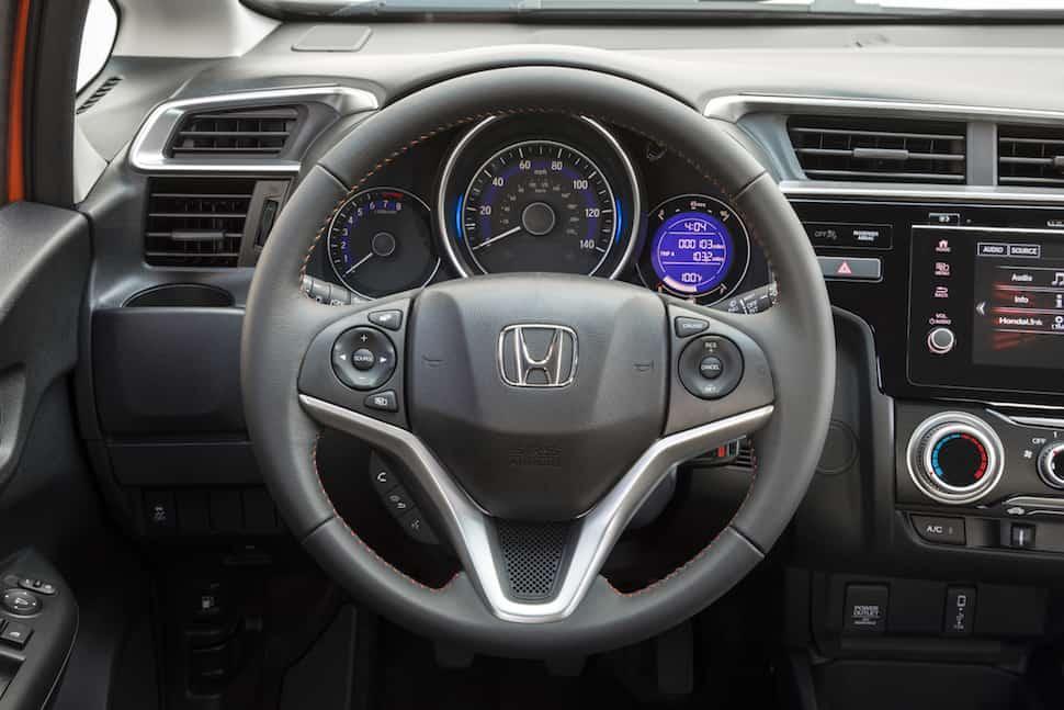 2018 Honda Fit Sport interior cabin front