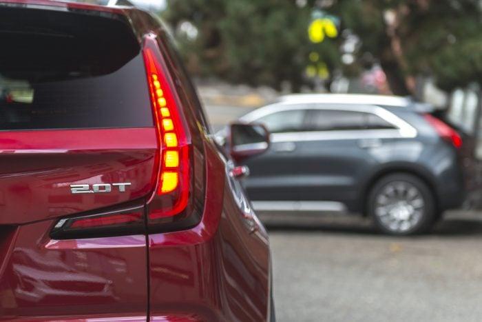 2019 Cadillac XT4 rear taillight