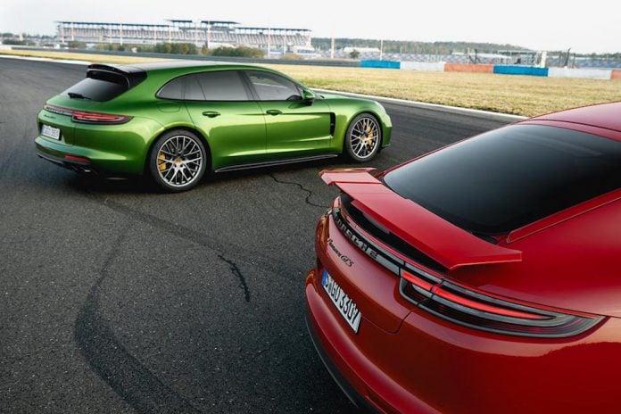 2019 Panamera GTS side by side
