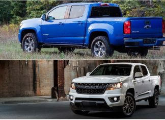 2019 chevy colorado z71 trail runner and rst